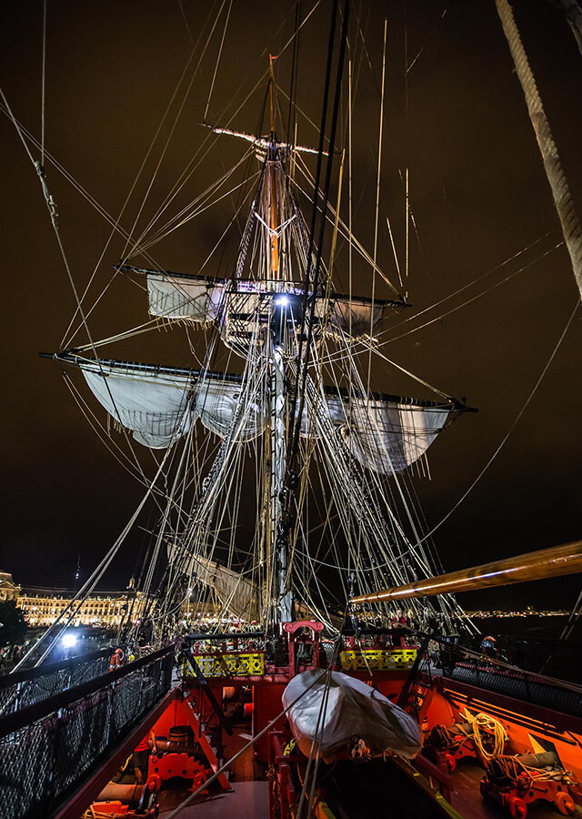 L'Hermione in Bordeaux